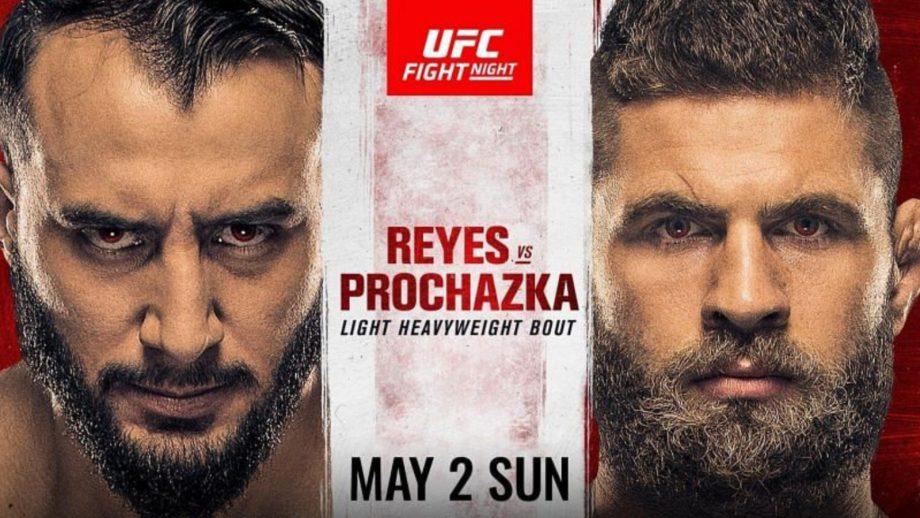 UFC Vegas 25: Ига Прочазка - Доминик Рейес