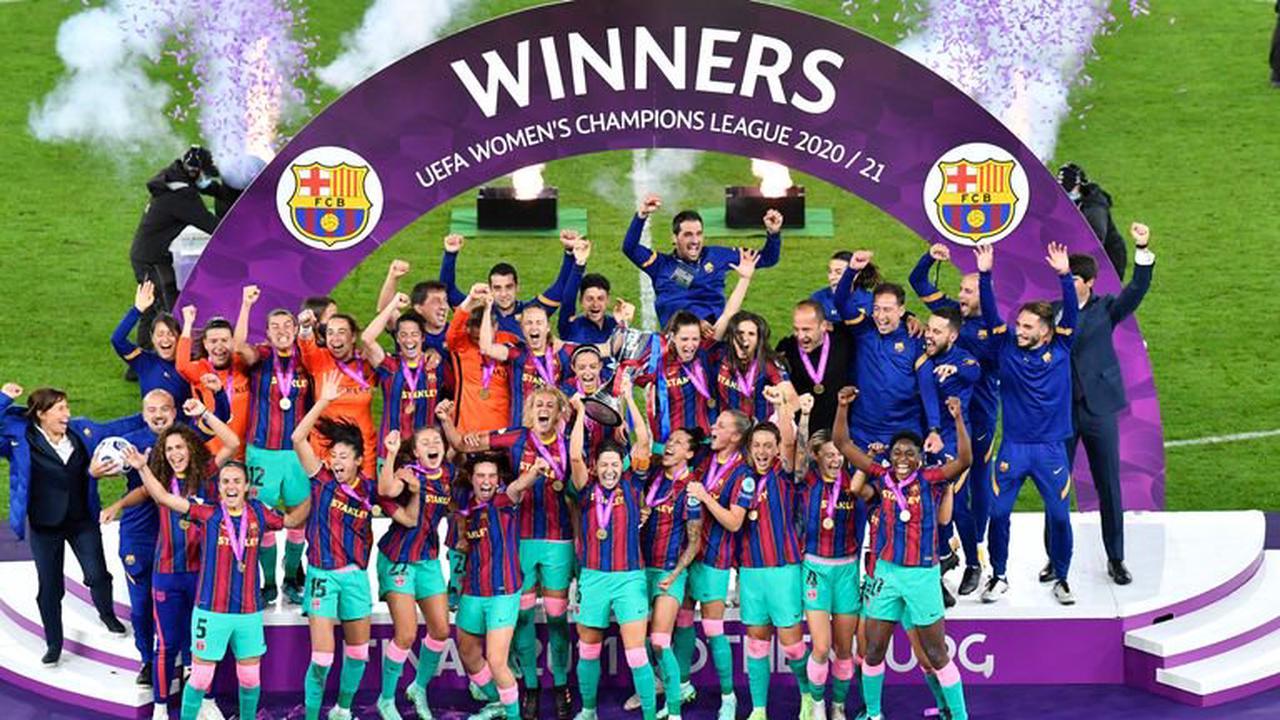 Эмэгтэйчүүдийн аваргуудын лигийн аварга Барселона клуб