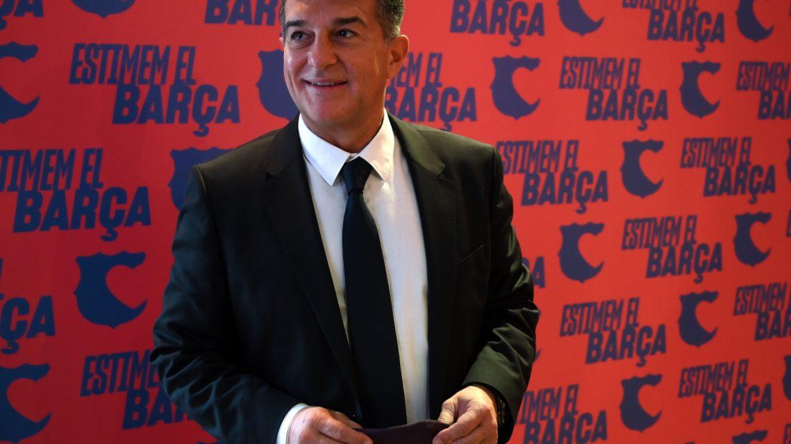 Барселона клубын ерөнхийлөгч Жоан Лапорта